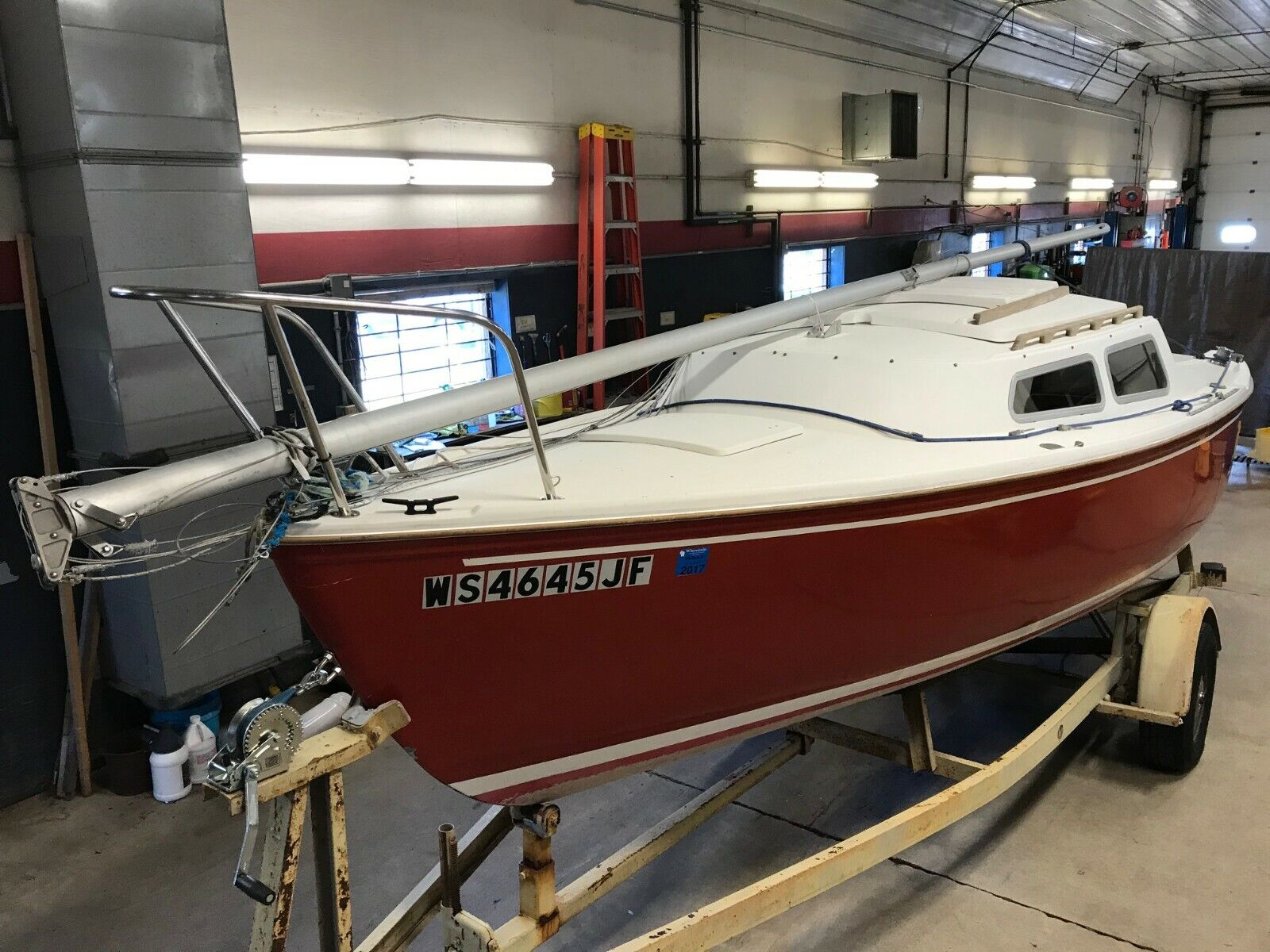 22' Catalina Sailboat NO Motor Miscellaneous Trailer  T1287353