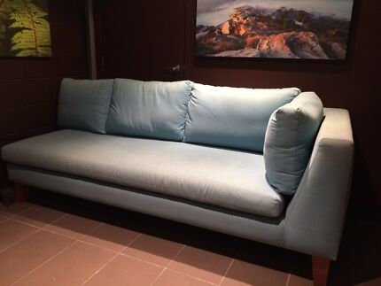 Light Blue Sofa