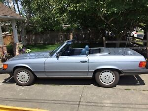 Classic Mercedes Convertible! Must sell!