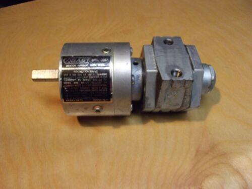 Gast Reduction Drive Model GR-11 / 15:1 ratio