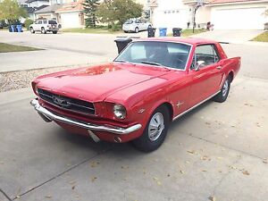 1965 Ford Mustang 289 for $28000 OBO