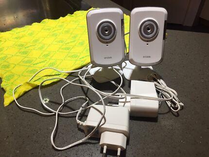 DLink CCTV Cloud Camera x 2