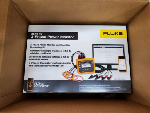 Brand New  Fluke 3540 FC KIT - 3-Phase Power Monitor ///MFG 2020 ///
