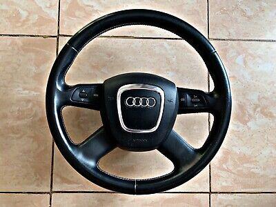 Audi Q7 4L A6 4F C6 Lederlenkrad Lenkrad Multifunktion gebraucht kaufen  Schöneiche