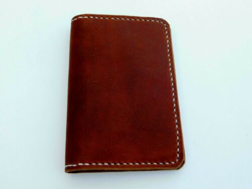 Handcrafted Leather Journal Cover with Field Notes