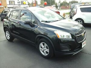 2014 CHEVROLET TRAX 1LT- ONSTAR, ALLOY WHEELS, BLUETOOTH, KEYLES