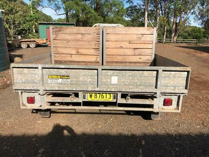Large Trailer Clunes Lismore Area Preview