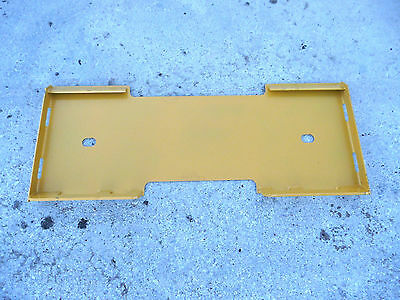 Caterpillar Cat Quick Attach Attachment Skid Steer Mount Weld Plate - Free Ship