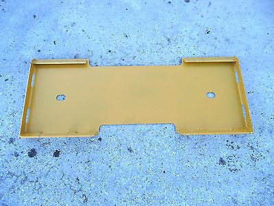 Caterpillar Cat Quick Attach Attachment Skid Steer Mount Weld Plate - Free Ship