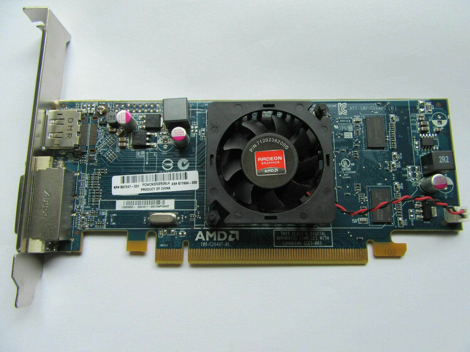 ATI Radeon HD 7450 Grafikkarte | 1GB DDR3 | DVI | Displayport | PCIe
