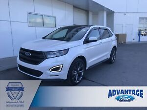 2017 Ford Edge Sport Panoramic Roof