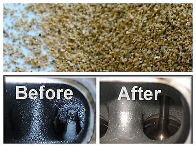 sandblasting walnut nut grit 16/30 0.5mm cleaning Car engines+cylinder head 5 Kg