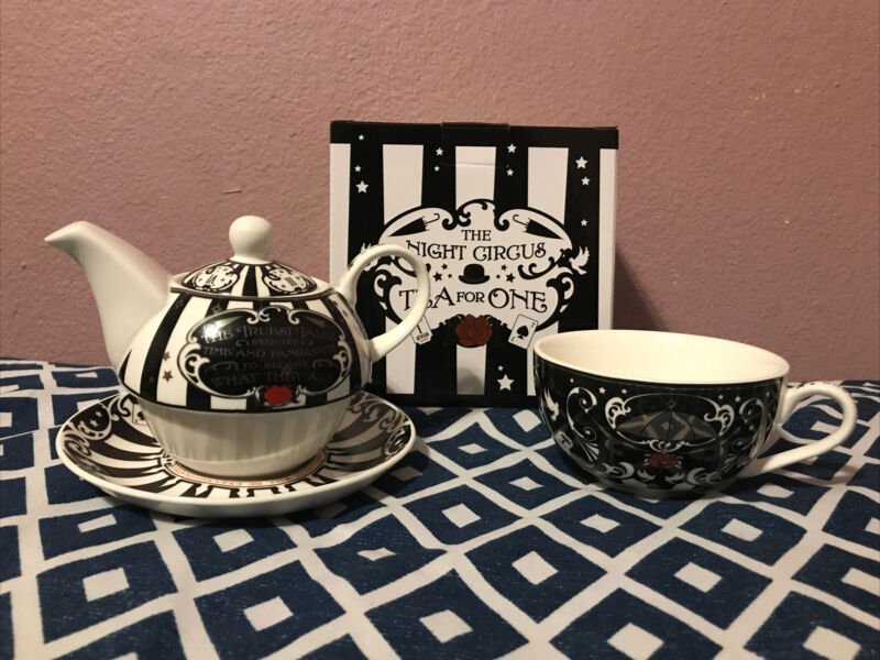 Illumicrate The Night Circus Tea for One Set BRAND NEW IN BOX Erin Morgenstern