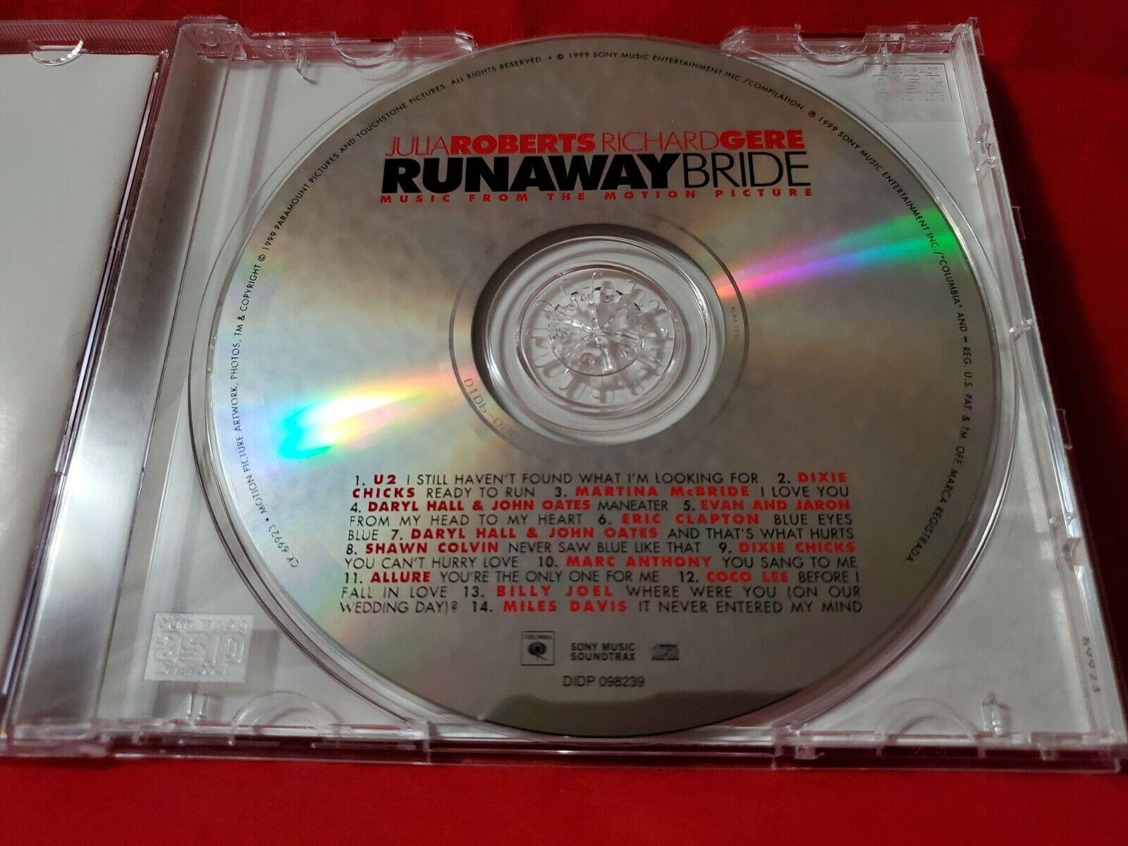 Runaway Bride 1999 Sony Columbia Soundtrack CD Various Artists BMG Release  - $2.98