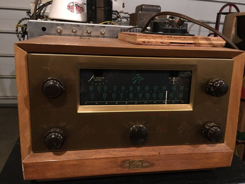 The Fisher Series 80-T Tube Preamp and Tuner