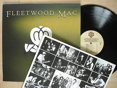 Fleetwood Mac Greatest Hits   Inner Lp Rhiannon Dreams Dont Stop Wb 2014 Ex  Nm