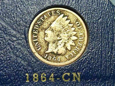 1864 INDIAN HEAD CENTCN                                                  1ST
