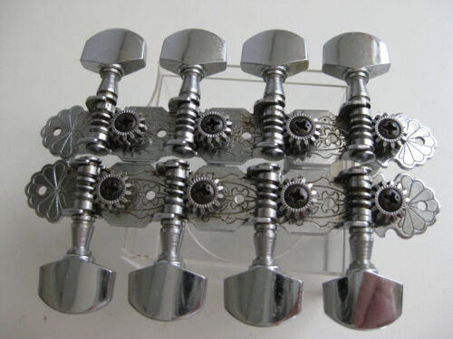 Johnson Memphis Rogue Slotted Neck Mandolin Tuners Set for Project Upgrade