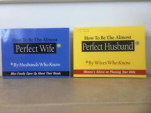 How To Be The Almost Perfect Wife & Husband Paperbacks
