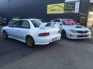 1999 SUBARU WRX STi VERSION 5 (COUPE) AUSTRALIAN DELIVERED NO.357 Granville Parramatta Area Preview