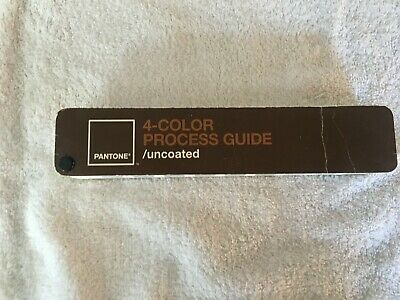 Pantone 4-color Process Guide Uncoated
