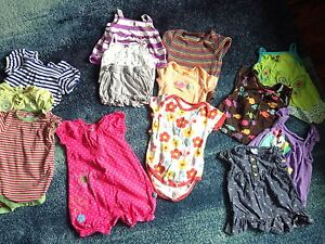 Lots of girl summer clothes 6-12m, 9m, 6-9m sizes