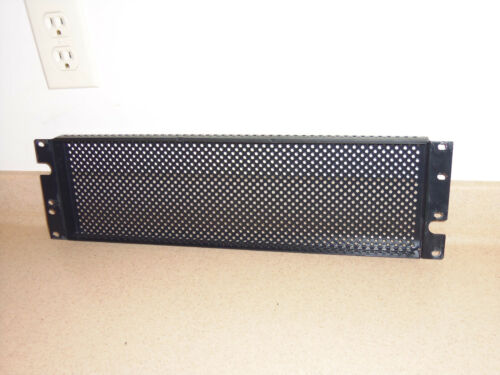 3U vented security cover for 19-inch in rack Gator GE-PNLSECFIX-3U