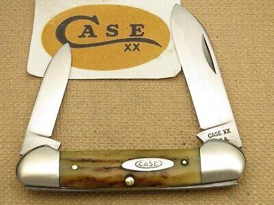 Case XX USA 1965-1969 52131 Canoe Genuine Stag Handles