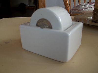 Antique Heavy Ceramic Sengbusch PP Inc Milwaukee Envelope and Stamp Moistener