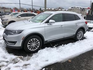 2016 Lincoln MKX Select, Navigation, Leather, AWD. 49, 000km