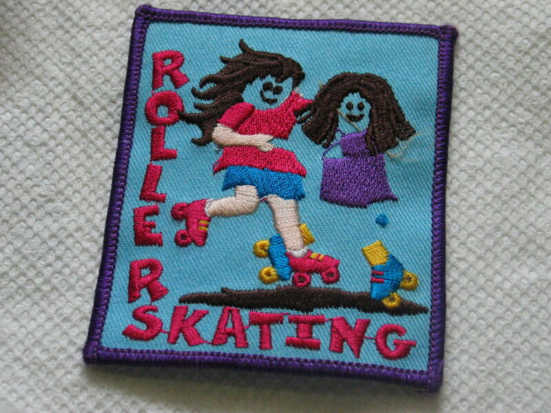 Roller Skating Patch Girl Scouts Patch? ( 59) *