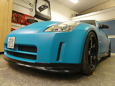 Nismo V1 Style Front Bumper for Nissan 350z 2003-2009, fibreglass BEST FITTING!!