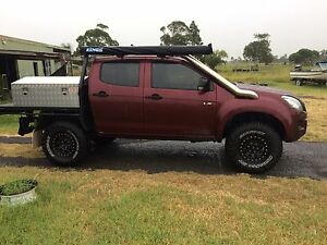 Steel dual cab ute tray Williamtown Port Stephens Area Preview