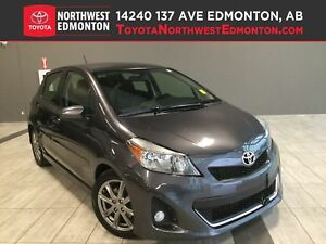 2014 Toyota Yaris SE | Bluetooth | Cruise | CD | A/C | Leather