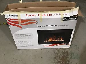 Home tech Electric Fireplace