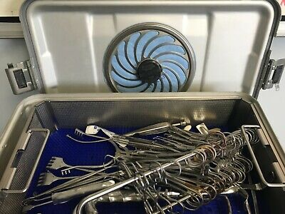 Minor Set Surgical Instrument Tray Complete With Sterilization Tray