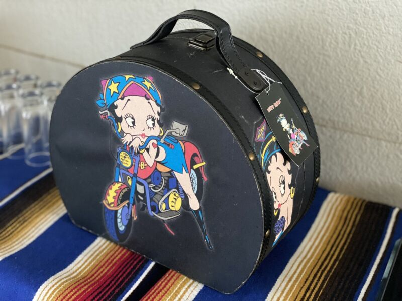 Vintage Betty Boop Container Storage Luggage