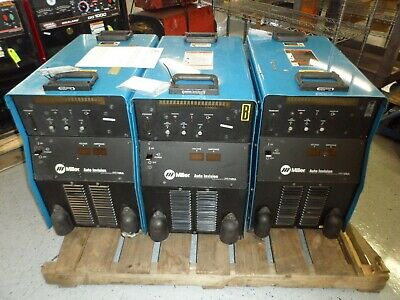 Miller Auto-invision 903632 Welder 575v Tested With 30 Days Warranty