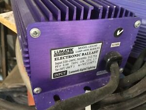 Ballasts for lighting