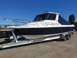 750 Hard top Northbank, twin 200hp Mercury V6 & Easy tow alluminium tr East Bunbury Bunbury Area Preview