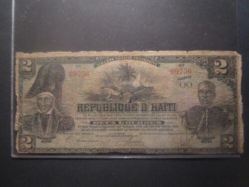 1903 HAITI 2 GOURDES