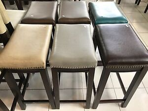 Brand New Bar Height Assorted Colour Stools