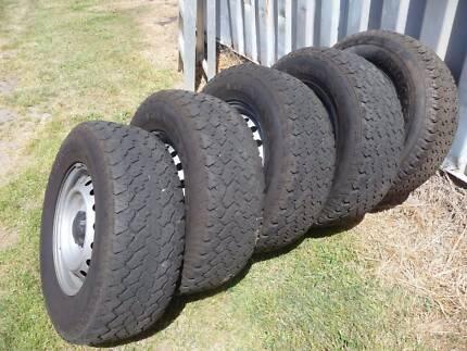 Rims & Tyres suit 4x4