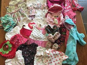 21-item Baby Girl Lot, NB-24 mth