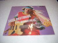 Jaco Pastorius / Live In Montreal Japan Laserdisc -  - ebay.it