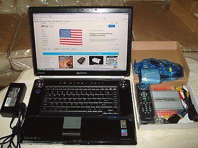 """Toshiba Qosmio G25 w/Intel Pentium M/17"""" LCD/2GB Ram/160GB HDD/XP/TV Tuner"""