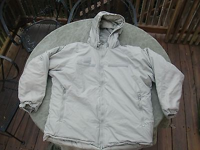 GEN III PRIMALOFT LEVEL 7 Cold Weather Jacket Extra Large Reg (XL-R) New w/ tags
