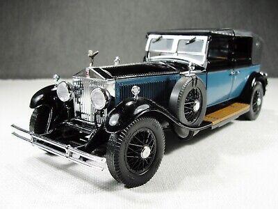 1/24 Scale 1929 Rolls Royce Phantom I Cabriolet De Ville Model Car Franklin Mint