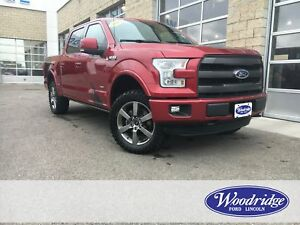 2016 Ford F-150 Lariat ECO, NAVIGATION, SUNROOF, LEATHER, LEV...