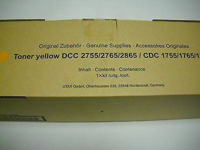 Original Toner,Yellow, 655510116, Utax CDC 1755,1765,1865, TA DCC 2755,2765,2865 online kaufen
